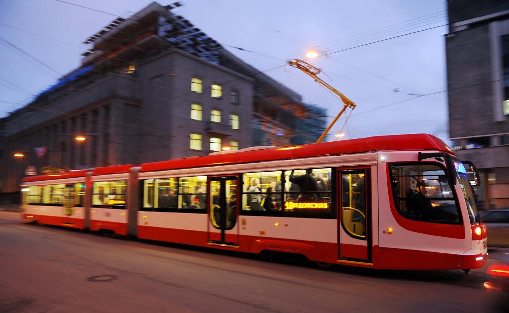 Самый длинный в России трамвай